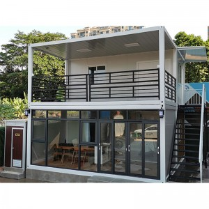 Wholesale Price Prefab Bungalows - 20ft 40ft shipping luxury home Prefabricated container house for sale – Vanhe