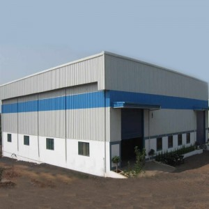 Best Price on Pre Engineered Metal Building - Low price Metal building construction design large span single two story steel structure warehouse building – Vanhe