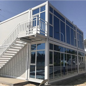 Manufacturer for Living Container House - Container House Movable Prefabricated House for villa,office,public toilet Container House Movable Prefab House container home – Vanhe