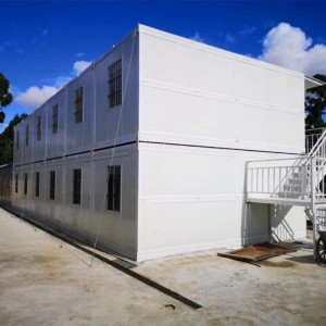 Wholesale Price China Modern Prefab Home Kits - Extended Foldable Prefab Container Homes folding prefabricated house – Vanhe