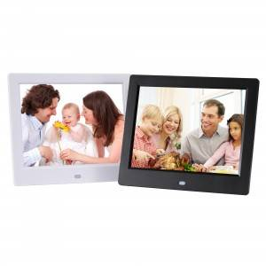 PriceList for Best Wifi Digital Photo Frame - 8 inch slideshow cheap video player digital picture frame digital photo frame commercial advertising HD support 720P – Idealway