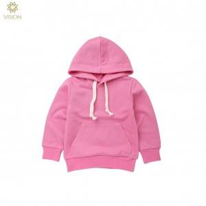 Good Wholesale Vendors Bamboo T-Shirts - wholesale children's hooded sweatshirts personnalisable pullover hoodie – Vision