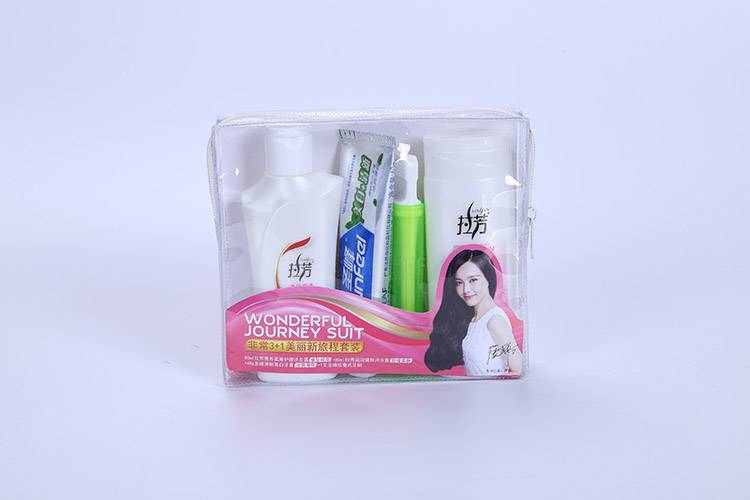 Good quality Jewelry Pouches With Logo Printing - Travel Clear PVC Makeup Cosmetic Bag – Vivibetter Packaging
