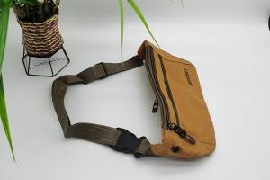 waist bag in brown color