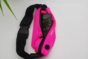 waist bag in pink color