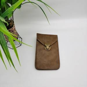 waist phone leather hangbag