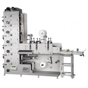 Flexo Printing Machine With Three Die-cutting Stations