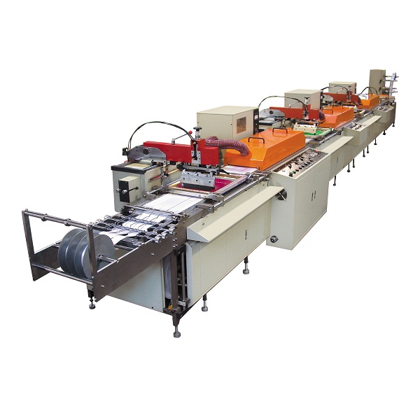 Automatic Servocontrol Multi-Color Screen Label Printing Machine Featured Image