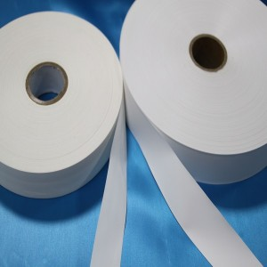 Thermal Transfer Woven Edge Satin