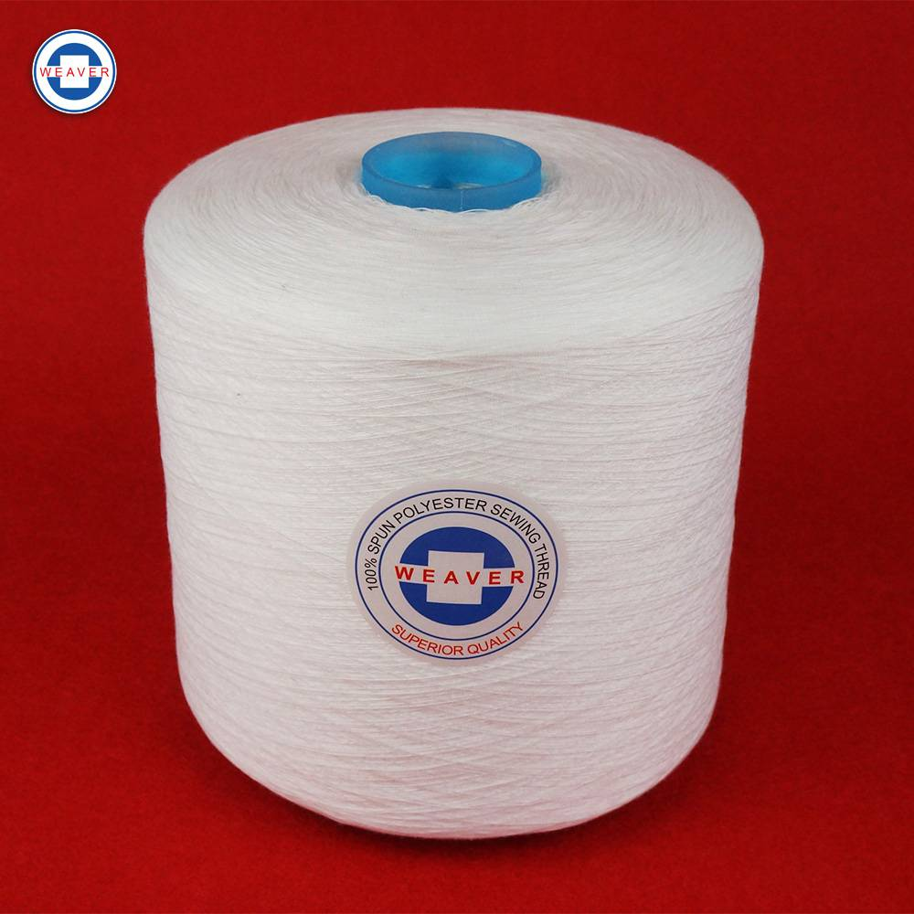 Factory Cheap Hot 100% Polyester Spun Yarn 30s - poly poly core Sewing Thread  40/2 – WEAVER