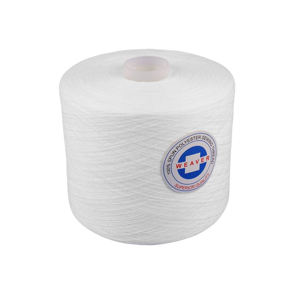 OEM Supply Hand Sewing Thread - hilo de coser 42/2 polyester sewing thread – WEAVER