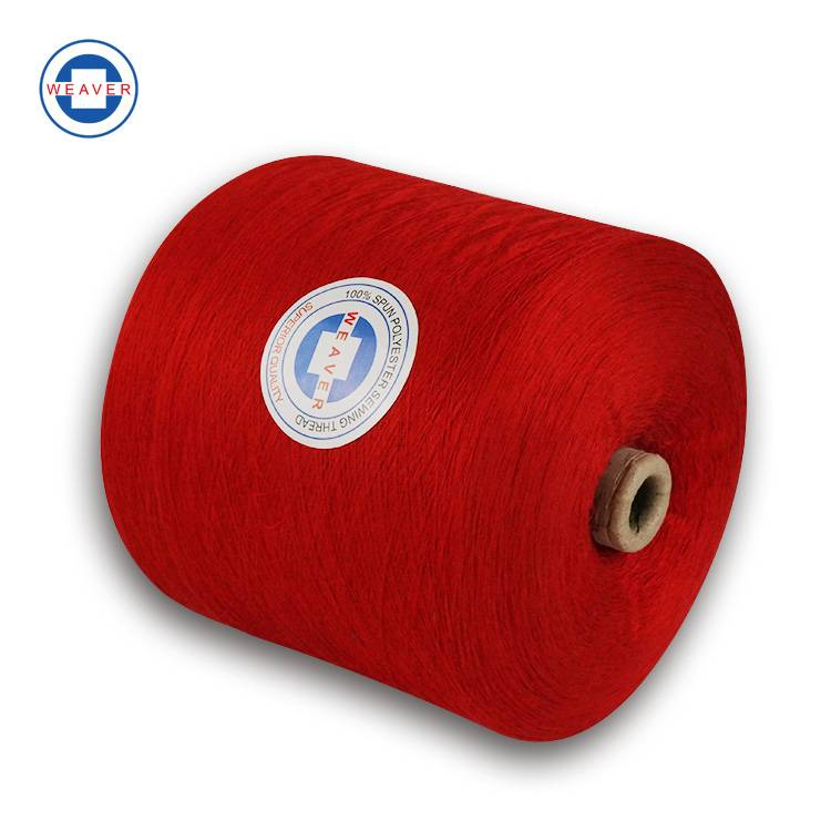 OEM China Buy Sewing Thread - Dyed yarn 44/2 100% spun polyester sewing thread from China Manufacturer – WEAVER