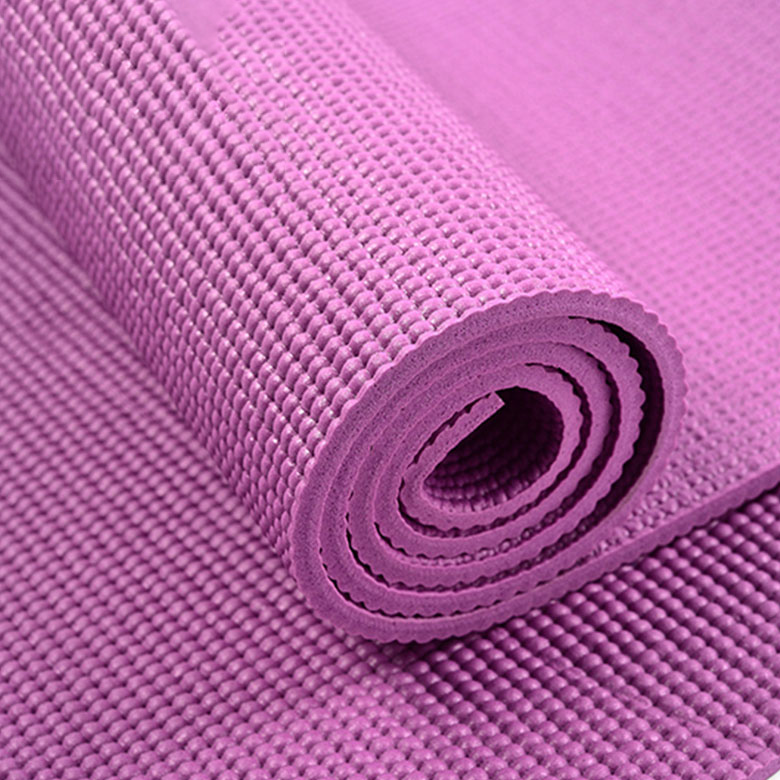 Factory wholesale Tapete Yoga - cheap factory custom  cheap eco friendly non slip workout waterproof foldable yoga mat pvc – WEFOAM