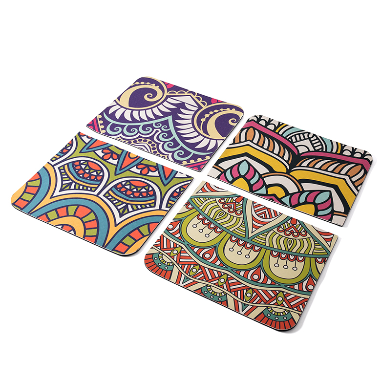 Factory price custom logo wholesale  private label decorative screen printing tpe custom yoga mat natural rubber