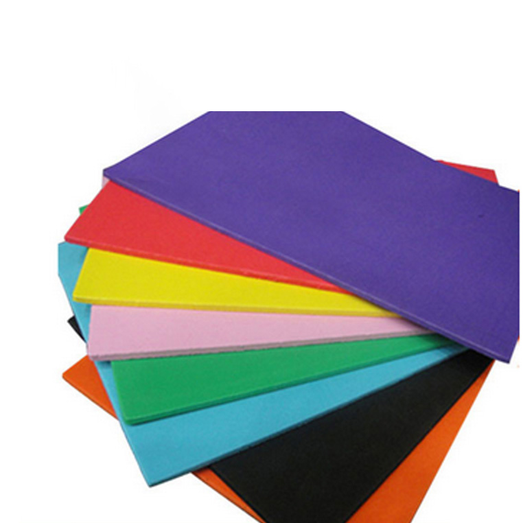 High-elasticity customized waterproof plastic foam thick EVA Sheet raw material
