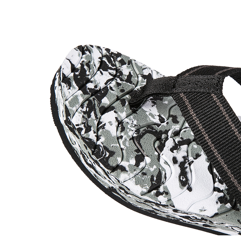Factory wholesale Non Slip Slipper Sole - Customized message thin eva men  camouflage camo make your own flip flops – WEFOAM