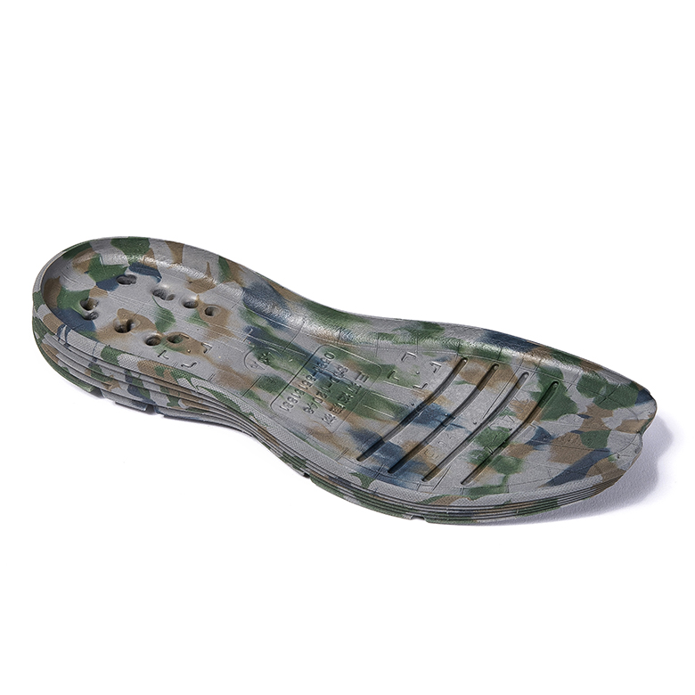 High Quality Embossed Eva Sheet - New design custom camouflage pattern rubber sole shoes – WEFOAM