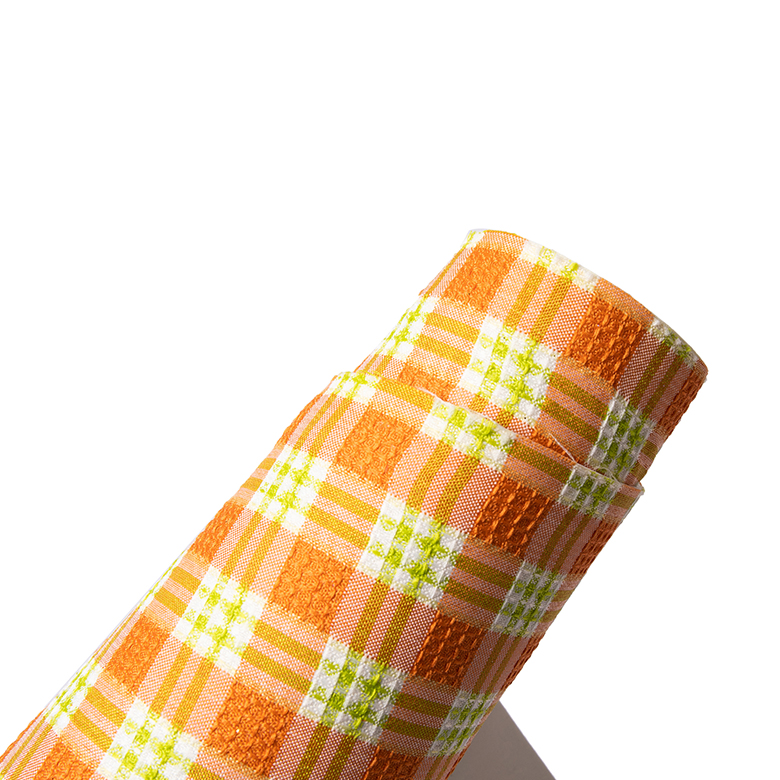 2020 pumpkin orange factory direct fabric textured plaid adhesive back color eva foam sheet