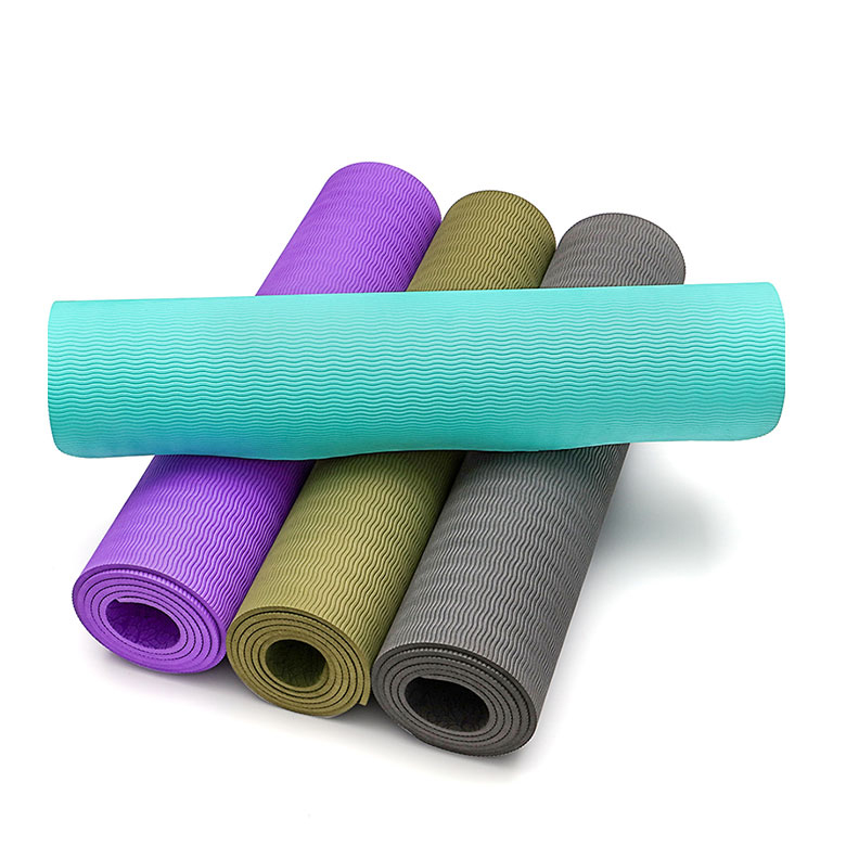 Factory source Pu Rubber Yoga Mat - China hot factory direct products private label custom logo oem folding yoga mat – WEFOAM