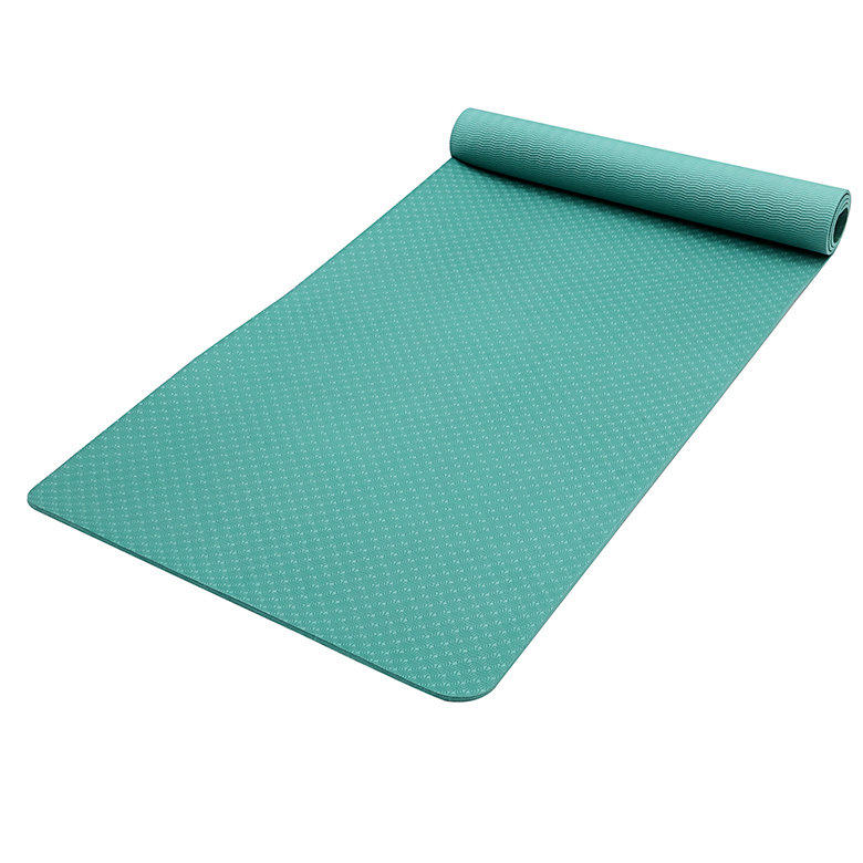 Reasonable price Custom Label Yoga Mat - 2020 Hot sale high quality Custom solid color non skid extra wide tpe foam roller wide yoga mat for kids with logo printing – WEFOAM