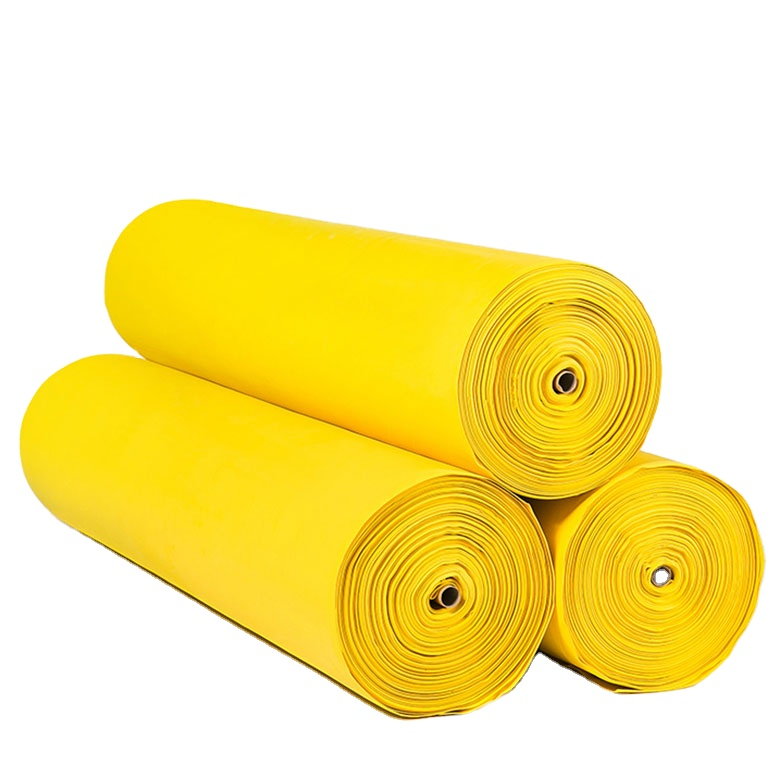 Cheap PriceList for Closed Cell Eva Sheet - Custom eco-friendly high density Camo white/yellow acrylic double sided EVA roll – WEFOAM