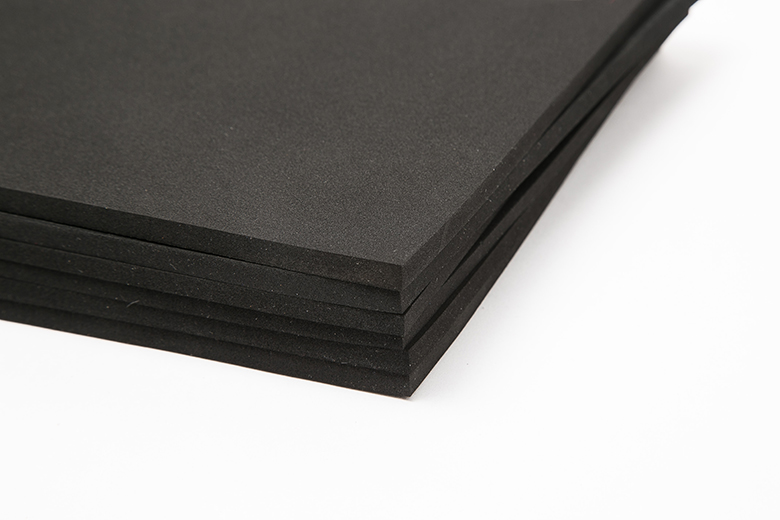 Best quality Eco Friendly Shoe Material - wholesale custom cheap high quality colorful sbr rubber sheet for sale – WEFOAM