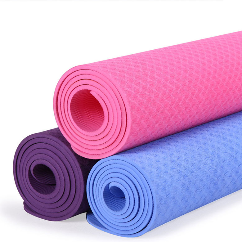 Factory supply material China manufacturer thick non slip puzzle 4cm yoga mat