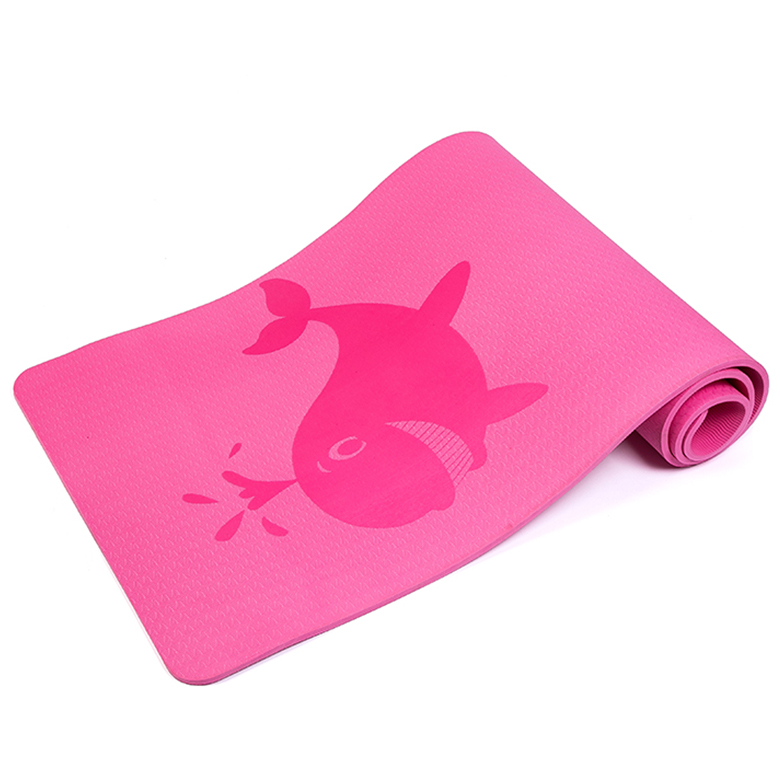 PriceList for Print Premium Yoga Mats - 10 mm skid proof cartoon whales animal pink custom eco-friendly tpe pro yoga floor mat with logo printing – WEFOAM
