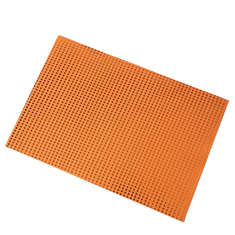 2020 High quality Shoe Sole Manufacturers - 2020 trendy colorful polka dot pumpkin orange pattern self-adhesive craft foam for kid classroom party – WEFOAM