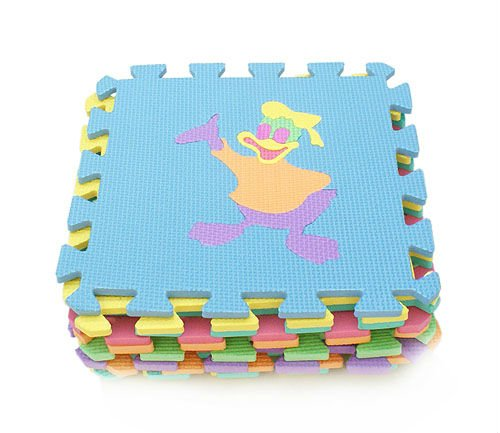 kid EVA Foam jigsaw puzzle mat educational toys animal eva foam