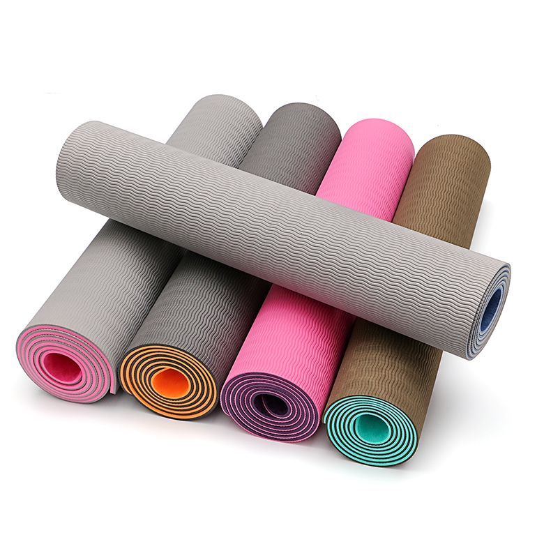 Rapid Delivery for Custom Logo Cork Yoga Mat - Custom logo eco friendly foldable yoga mats cheap travel yoga mat tpe – WEFOAM