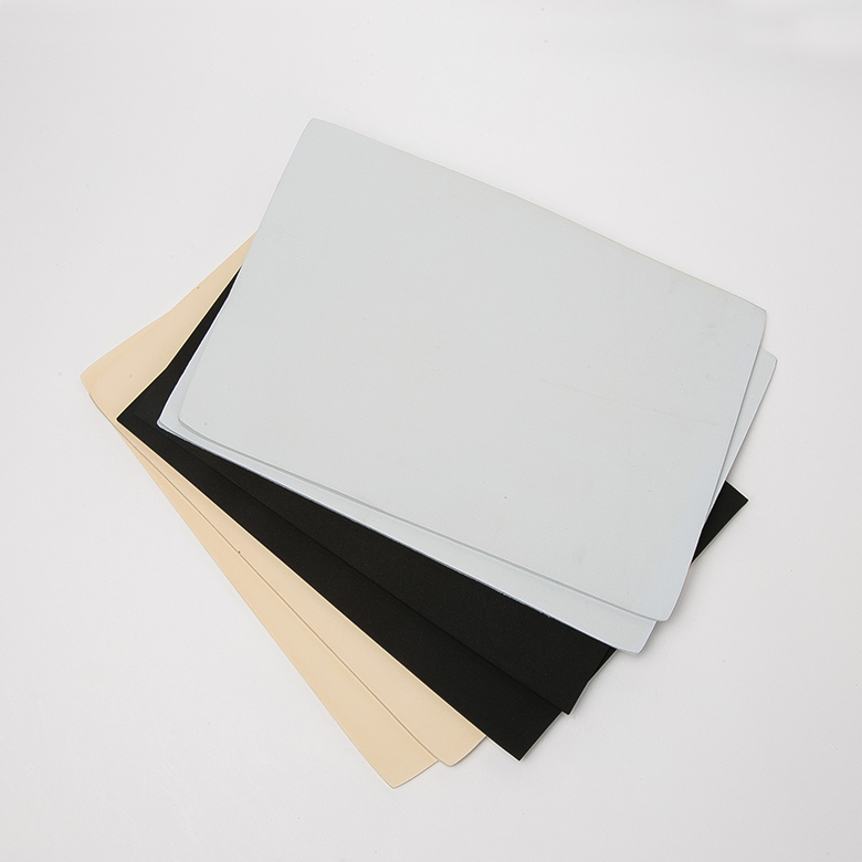 One of Hottest for Eva Foam Underlayment - White 1mm Customized neoprene epdm sbr cr foam sponge rubber sheet – WEFOAM