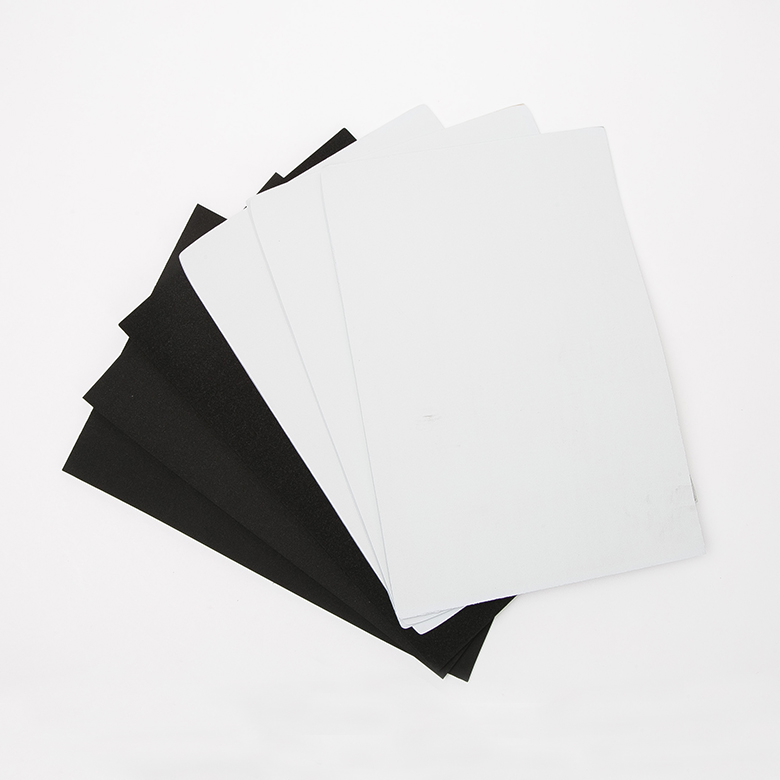 Manufacturer of Eco Eva Sheet - Customized epdm sbr cr foam sponge rubber sheet – WEFOAM