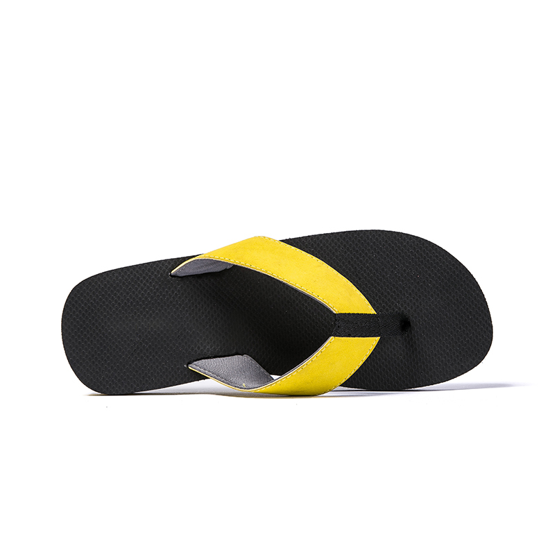 Competitive Price for Girls\\\' Wedge Heels - Latest design simple yellow wide strap slipper thong flip flops – WEFOAM