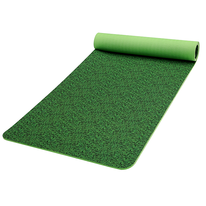 High Quality Double Layer Foam Yoga Mat - Factory custom logo non slip cheap green eco friendly tpe bamboo yoga mat – WEFOAM