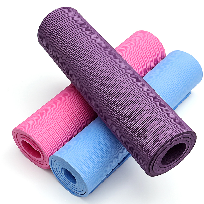 China supplier washable recycled 12mm thickness yoga mat