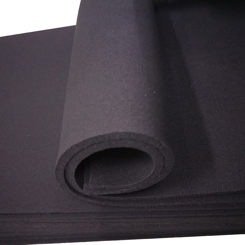 Manufacturer for Slipper - Chinese factory cheap price rubber sheet epdm roll – WEFOAM