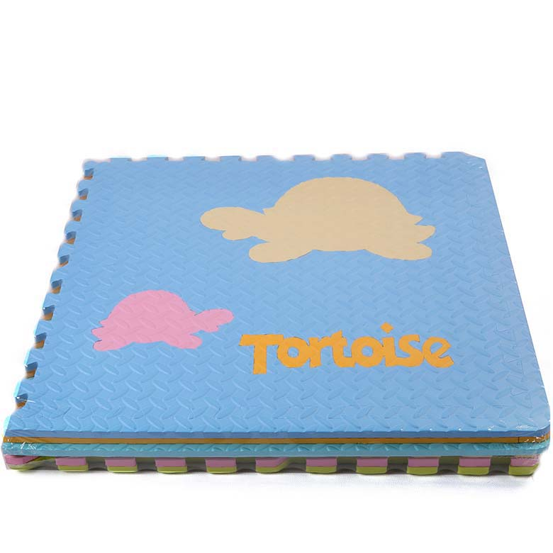 Cheapest Factory Foam Interlocking Fuzzy Rug - Factory price puzzle eva foam tatami mats print animals – WEFOAM
