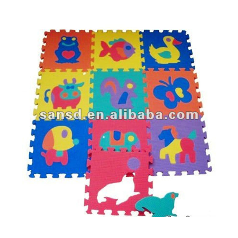 China wholesale Non Slip Mat - Safety kids bedroom eva jigsaw foam animal play custom foam puzzle mats – WEFOAM