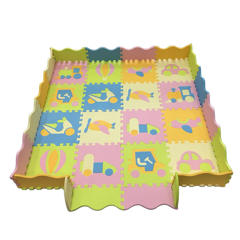 High Quality Safe Play Eva Mat - New design wholesale eco-friendly skid proof interlocking baby education eva foam puzzle mat for kids – WEFOAM