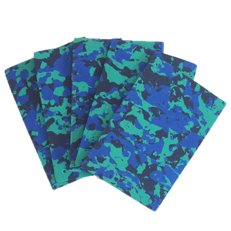 OEM/ODM Supplier Eva Recycled Material - Reliable supplier camouflage pattern plastic foam sheet mix color eva for slipper – WEFOAM