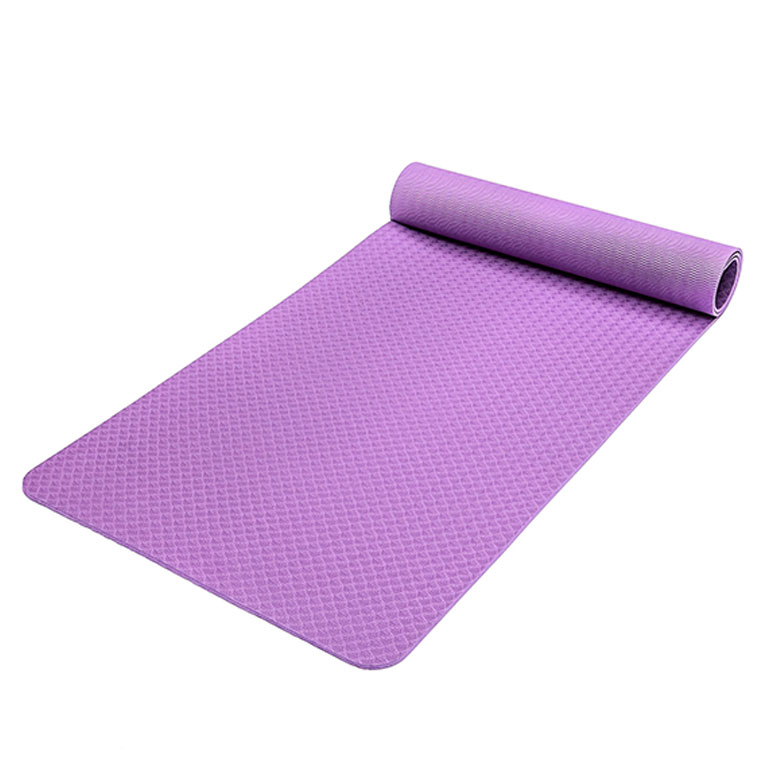 Factory wholesale superior materials comfortable exercise floor yoga mat with carrying strap