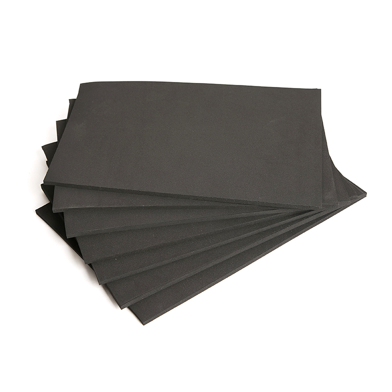 Top Suppliers Eva Multi Colored Sheets - Chinese manufacture epdm sbr cr recycled raw material rubber sheet – WEFOAM