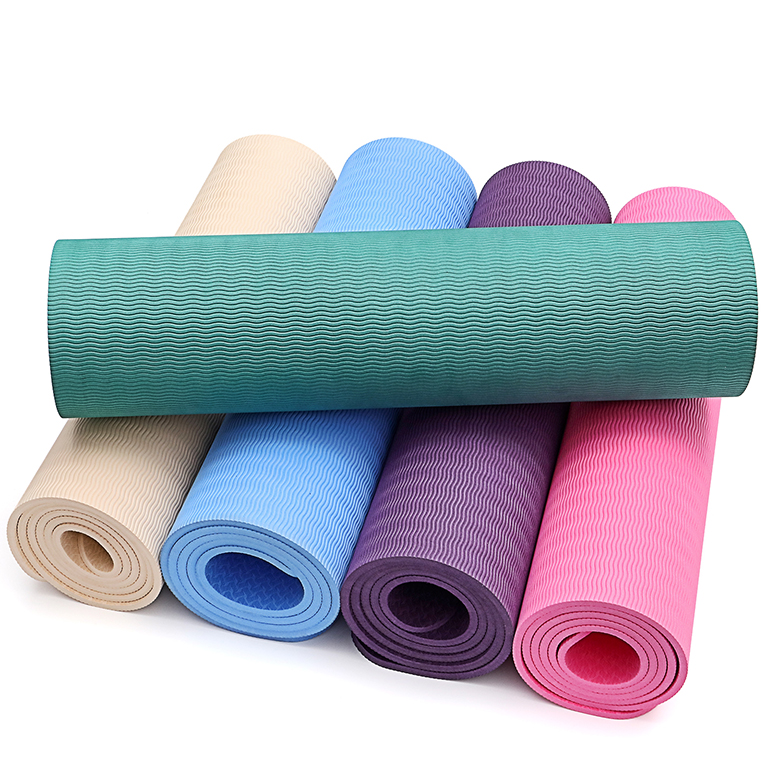 OEM/ODM Factory Yoga Mat Thick 30mm - custom eco friendly printed pattern gym fitness tpe yoga mats – WEFOAM