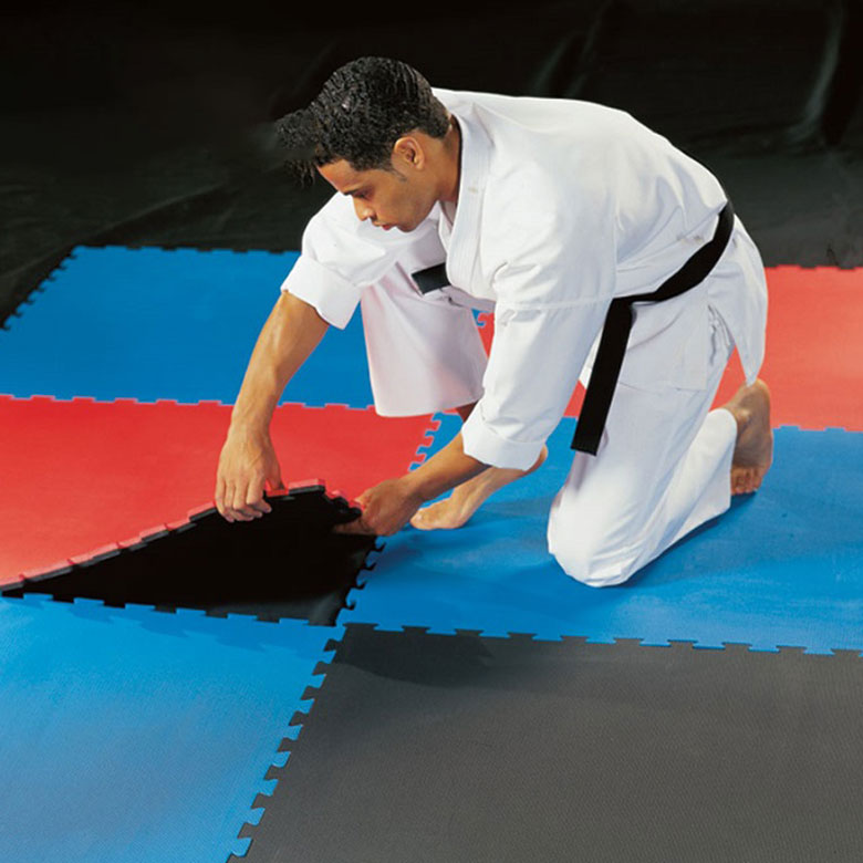 Newly Arrival Gymnastic Floor Mat - High quality colorful interlinking EVA foam material Tatami Mat – WEFOAM
