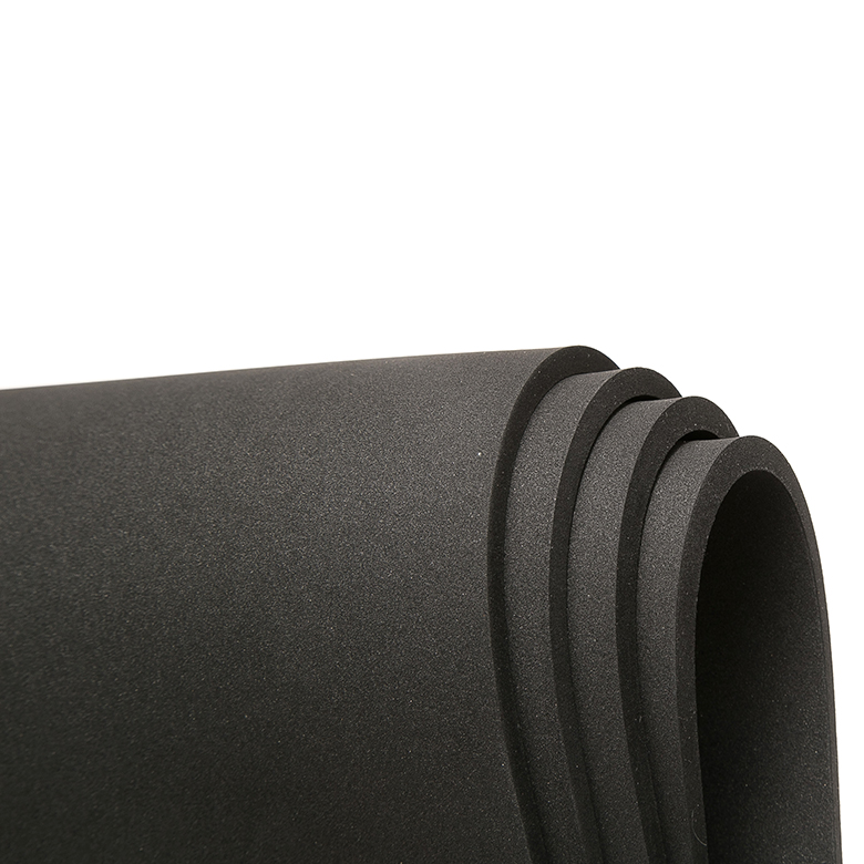 Factory Cheap Low Density Eva - Eco-friendly custom density epdm sbr cr polymer rubber sponge sheet rolls epdm roll – WEFOAM