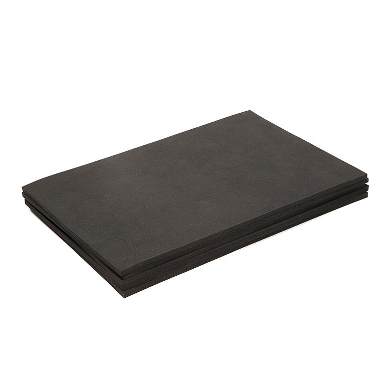 Super Lowest Price Flip Flop Raw Material - High quality custom epdm rubber roll sbr rubber mat cr sheet – WEFOAM