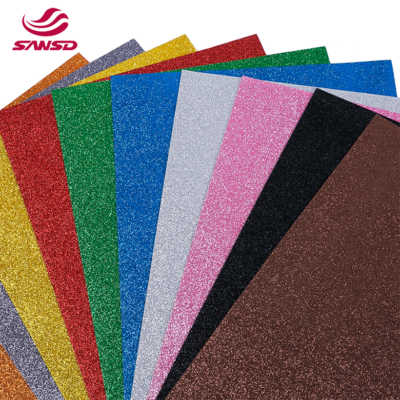 factory customized Women Raw Material - 2020 Beautiful and colorful glitter goma eva foam – WEFOAM