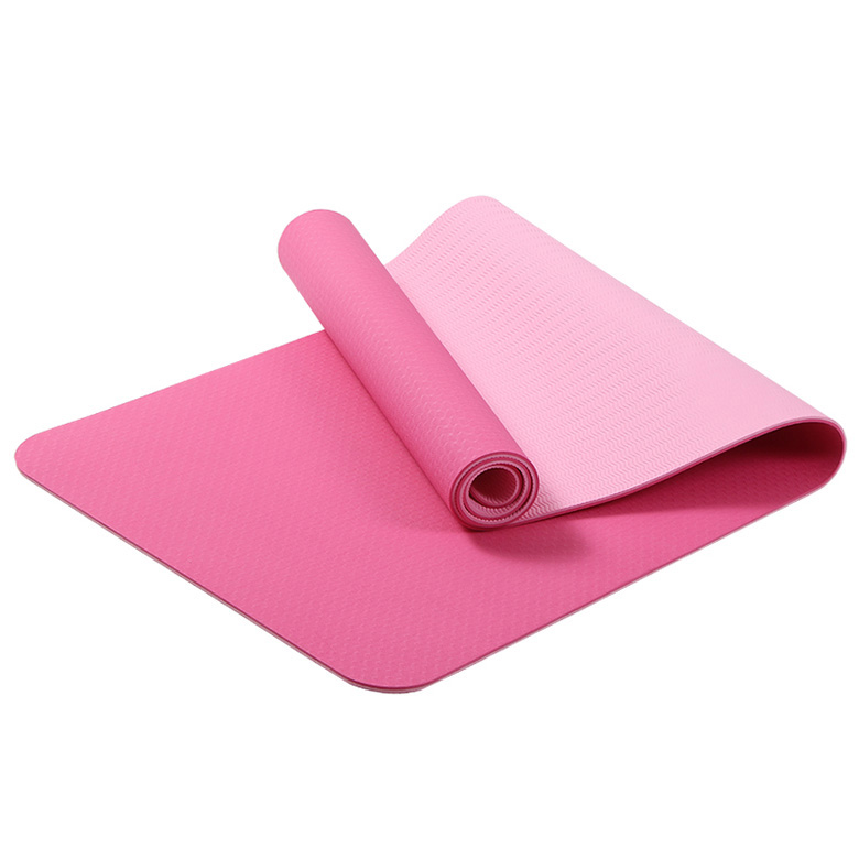 Good Wholesale Vendors Tpe Printed Yoga Mats - high density Double layer yoga mat with skidproof – WEFOAM