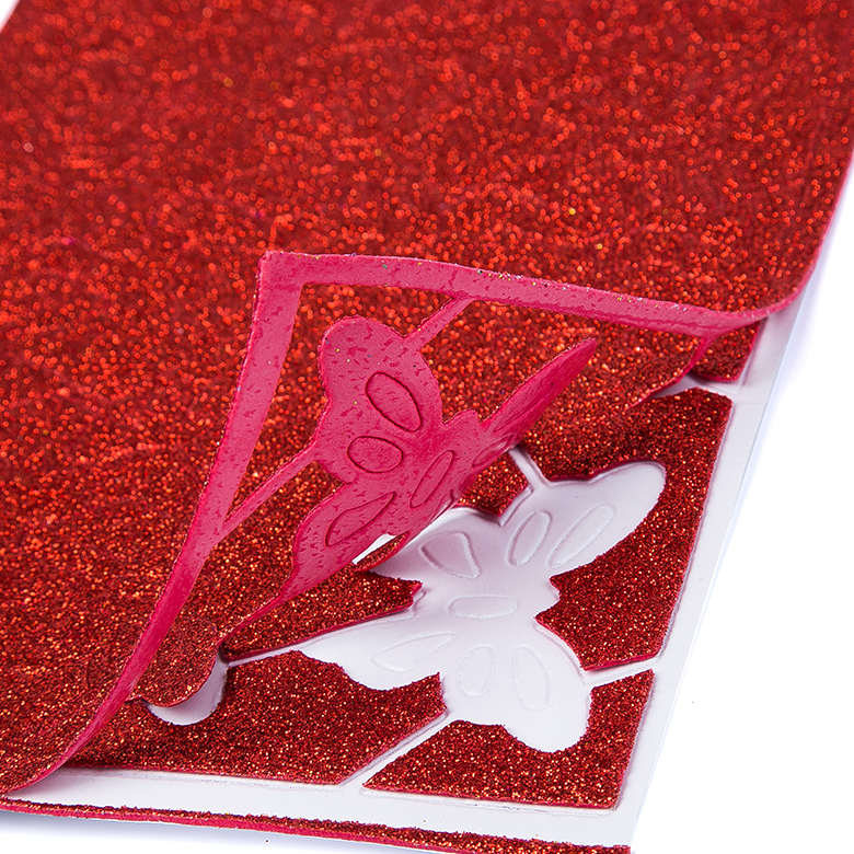 Renewable Design for White Eva Roll - Competitive price colorful glitter printed eva foam sheet for handicraft – WEFOAM